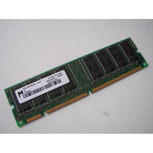 MICRON MT8LSDT864AG-10EC7 AKX 64MB 168p PC100 CL2 8c 8x8 SDRAM DIMM T016