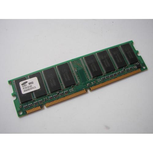 Samsung PM366S0823DTS-C1L AMX 64MB 168p PC100 CL3 8c 8x8 SDRAM DIMM T016