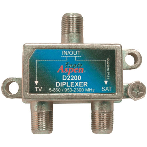 EAGLE ASPEN D2200 DirecTV-Listed Single Diplexer 950-2300MHz