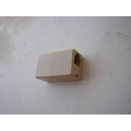 RJ45 8-pin Female to Female Jack Ethernet Telephone Coupler