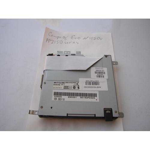 """HP Compaq Evo N1020v 1.44"""" Floppy Drive 285539-001"""