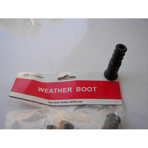 Centronics 930 Cable Weather Boot for RG59 and RG6 Coaxial Connectors 10pcs