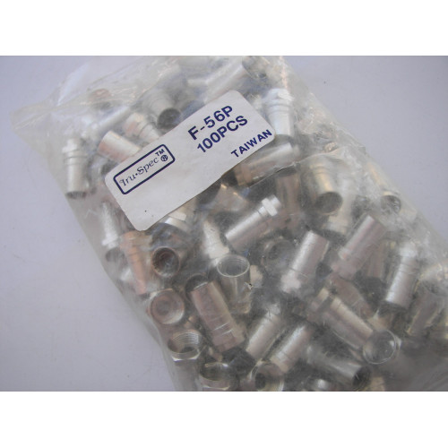 TRU-SPEC CABLE CRIMP CONNECTOR BAG OF 100 F-56P