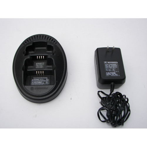 Motorola NTN8103A, NTN8116, And NTN8117 Dual Battery Charger