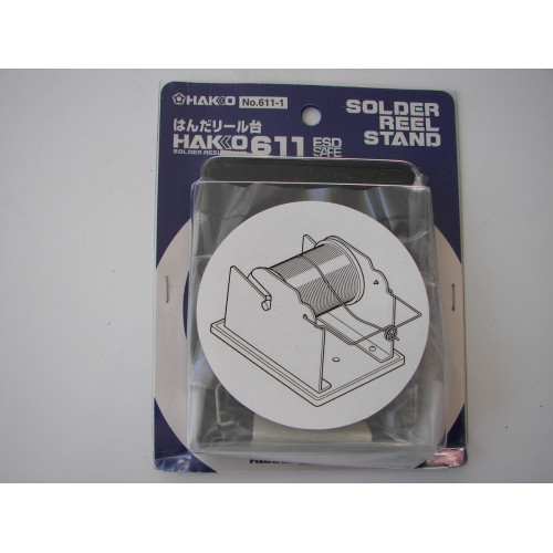 Hakko 611 Solder Reel Stand 611, Single Roll