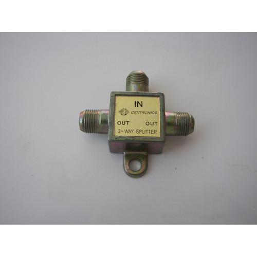 Centronics 2-Way Mini Splitter 5-900MHz T Type