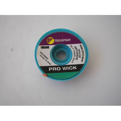 Techspray Pro Wick 1810-10F Anti-Static Type R 105600