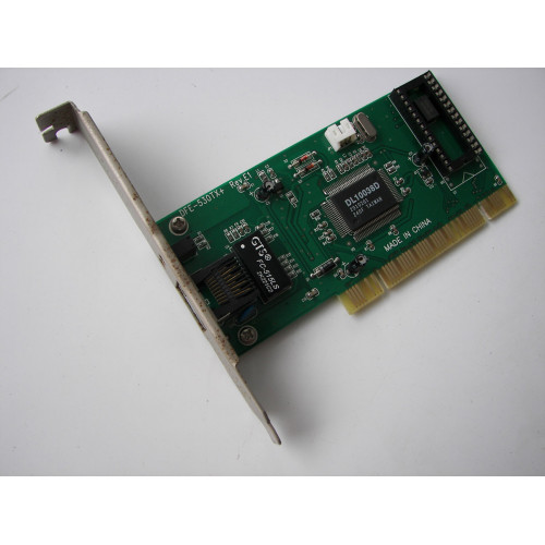 Realtek GTS FC-515LS Ethernet PCI NETWORK CARD Windows