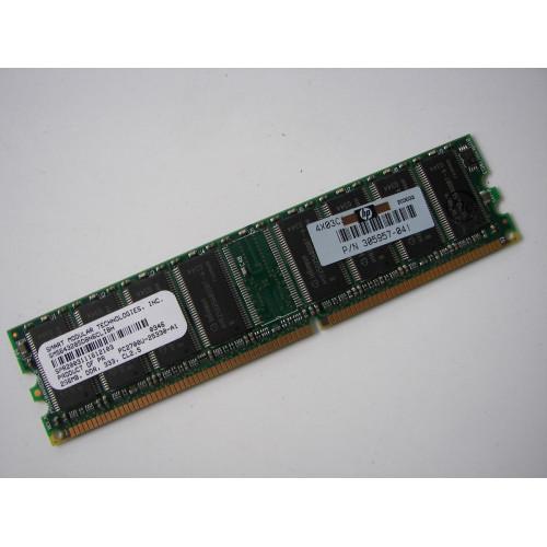 SMART MODULAR 256MB SM5643285D8N6CLIBH 335174-041 DDR PC2700 333MHZ CL2.5 184 PIN DESKTOP RAM MEMORY