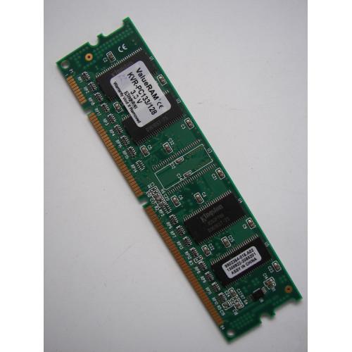 Kingston Technology - 128MB PC133 SDRAM MEMORY VALUERAM KVR-PC133/128 Desktop Memory