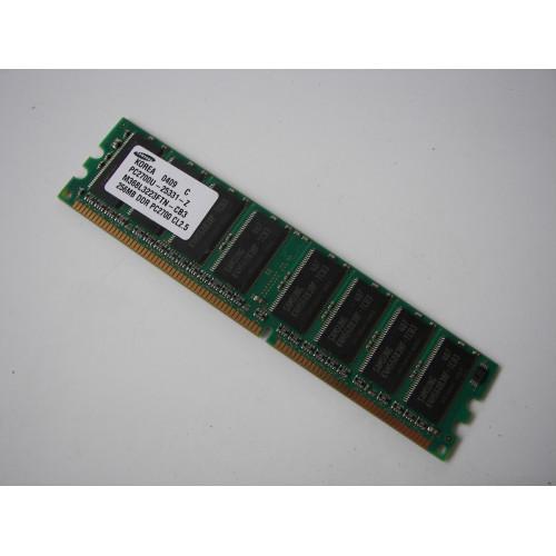 Samsung PC2700U-25331-Z Computer Memory Desktop 256MB DDR PC2700 CL2.5 M368L3223FTN-CB3
