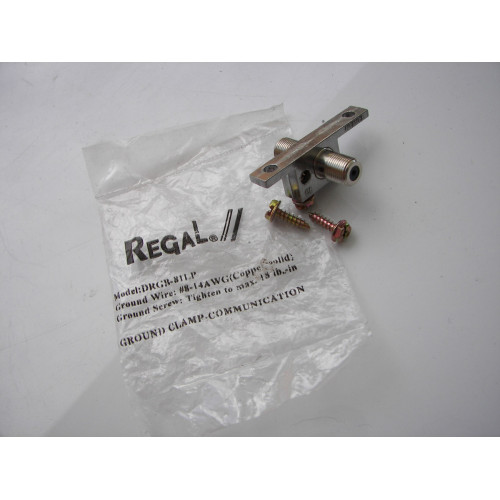 Regal DRGB-81LP 2.4GHz Low Profile Ground Block Coaxial Cable