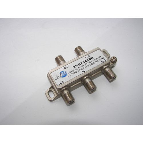 JVI 25-HFS42DN 4-Way 5-2300MHz Splitter