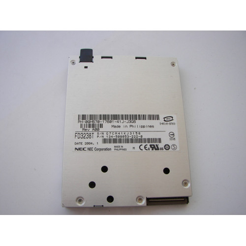 NEC Laptop Slim Floppy Disk Drive New OEM FD3238T Bezeless