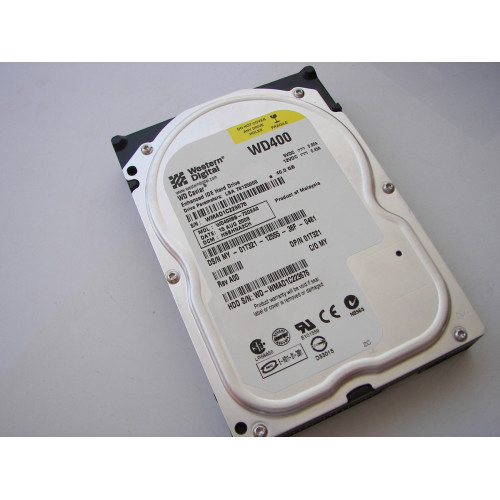 40GB WD Caviar WD400BB IDE hard drive ATA-100 Series