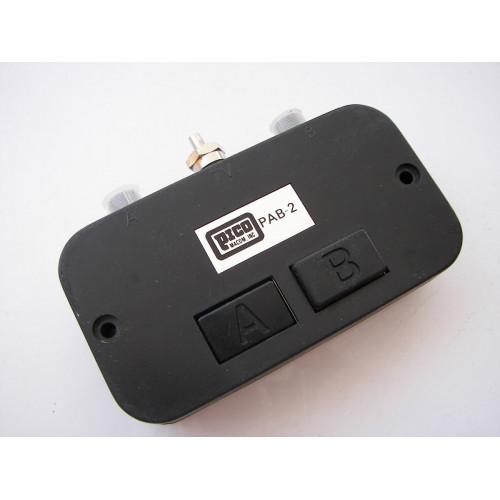 Pico Macom PAB-2 High Isolation Coaxial A/B Push Button Switch