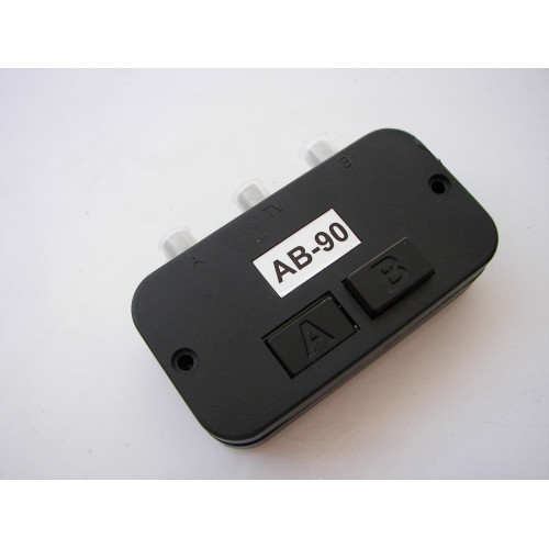 Generic 2-Way Push Button AB Coaxial Switch High Isolation for Radio Cable Satellite TV AB-90