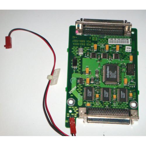Genuine HP NetServer LPr SCSI Terminator Board 5183-6554 5064-5827 w/Cable